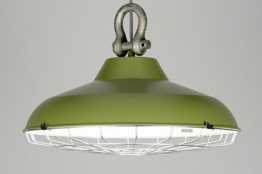 Keuken Olijfgroen : hanglamp 88180: modern, retro, industrie, look
