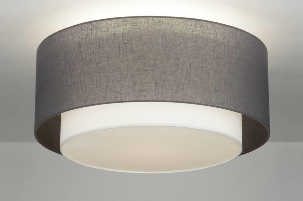 Slaapkamer Lamp Plafond : Deckenleuchte 88530: modern, Design, Stoff ...