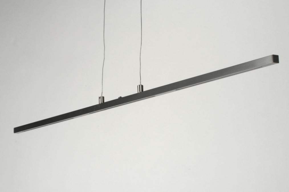 Design Hanglamp Keuken : Hanglamp 88733: modern, design, staalgrijs, staal