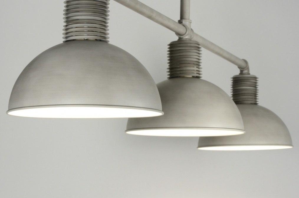 Stoere Hanglamp Keuken : Hanglamp 89053: modern, industrie, look, grijs