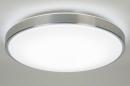 bekijk plafondlamp-10104-modern-wit-kunststof-rond