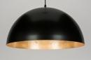 bekijk hanglamp-10154-modern-zwart-mat-metaal-rond
