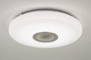 bekijk plafondlamp-10170-modern-wit-kunststof-rond