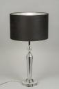 tafellamp-10172-modern-kristal-stof-grijs-zilver-zwart-rond