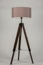 bekijk staande_lamp-10305-modern-retro-taupe-hout-donker_hout-stof-rond