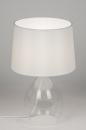 bekijk tafellamp-10562-modern-glas-helder_glas-stof-wit-rond