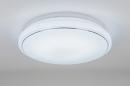 bekijk plafondlamp-10857-modern-wit-mat-kunststof-rond