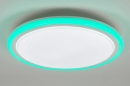 bekijk plafondlamp-10894-modern-wit-kunststof-rond