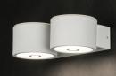 bekijk wandlamp-10914-modern-wit-mat-metaal-rond