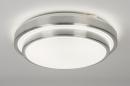 bekijk plafondlamp-10940-modern-design-grijs-zilvergrijs-kunststof-rond