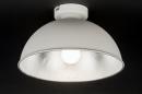 bekijk plafondlamp-10976-modern-wit-mat-zilvergrijs-metaal-rond