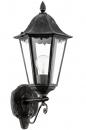 bekijk wandlamp-11121-klassiek-eigentijds_klassiek-zwart-aluminium-glas-helder_glas-lantaarn