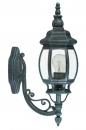 bekijk wandlamp-11131-klassiek-groen-zwart-aluminium-glas-helder_glas-lantaarn