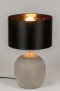 bekijk tafellamp-11140-modern-eigentijds_klassiek-landelijk-rustiek-stoer-raw-betongrijs-zwart-beton-stof-rond