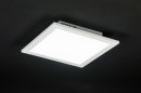 bekijk plafondlamp-11198-modern-wit-mat-aluminium-kunststof-vierkant