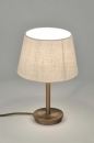 tafellamp-30094-modern-eigentijds_klassiek-landelijk_rustiek-creme-brons-stof-rond