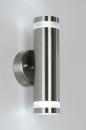bekijk wandlamp-30344-modern-glas-helder_glas-kunststof-staal_-_rvs-rond