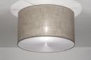 bekijk plafondlamp-30531-modern-bruin-taupe-kunststof-staal_rvs-stof-rond