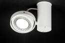 bekijk plafondlamp-30544-modern-design-aluminium-wit-mat-rond