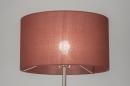 bekijk staande_lamp-30645-modern-bruin-rood-kunststof-staal_rvs-stof-rond