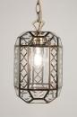 bekijk hanglamp-57398-klassiek-roest-bruin-brons-glas-helder_glas-rechthoekig-lantaarn