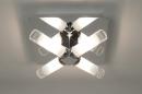 bekijk plafondlamp-64258-modern-glas-helder_glas-mat_glas-metaal-vierkant