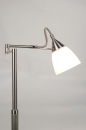 bekijk vloerlamp-66838-modern-retro-staal_-_rvs-glas-wit_opaalglas-rond