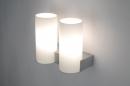 bekijk wandlamp-70705-modern-glas-wit_opaalglas-metaal-staalgrijs-rond-rechthoekig