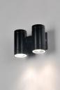 bekijk wandlamp-71168-modern-design-aluminium-zwart-glans-rechthoekig