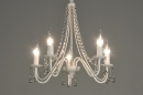 bekijk hanglamp-71242-klassiek-metaal-kristal-wit-mat-creme-rond