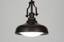 bekijk hanglamp-71941-klassiek-bruin-metaal-rond