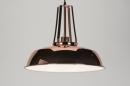 bekijk hanglamp-72070-modern-retro-industrie-look-metaal-rond