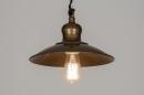 bekijk hanglamp-72179-klassiek-industrie-look-roest-bruin-brons-metaal-rond