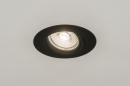 inbouwspot-72581-modern-klassiek-landelijk_rustiek-zwart-mat-aluminium-rond