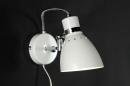 bekijk wandlamp-80721-modern-retro-wit-glans-metaal-rond