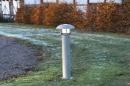 bekijk buitenlamp-82912-modern-staalgrijs-metaal-rond