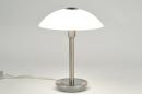 bekijk tafellamp-84187-klassiek-eigentijds_klassiek-glas-mat_glas-staal_rvs-rond
