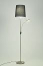bekijk vloerlamp-84402-modern-staal_-_rvs-stof-zwart-rond