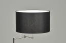 bekijk vloerlamp-86895-modern-staal_-_rvs-stof-zwart-rond