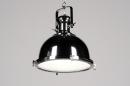 bekijk hanglamp-87309-modern-klassiek-industrie-look-metaal-rond