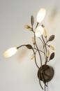 bekijk wandlamp-87898-klassiek-brons-glas