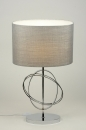 tafellamp-88220-modern-grijs-zilver-stof-rond