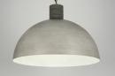bekijk hanglamp-88312-modern-industrie-look-metaal-rond