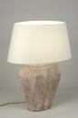 bekijk tafellamp-88383-modern-klassiek-keramiek-stof-creme-ovaal