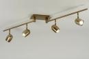 bekijk spot-88402-modern-klassiek-design-brons-rond