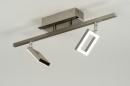 bekijk plafondlamp-88742-modern-design-staal_-_rvs-vierkant-langwerpig