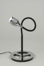 bekijk tafellamp-88957-modern-design-chroom-zwart-mat-rond