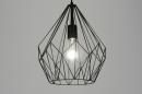 bekijk hanglamp-89069-modern-zwart-mat-metaal-rond