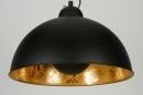 bekijk hanglamp-89135-modern-eigentijds_klassiek-goud-zwart-mat-metaal-rond