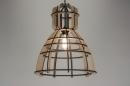 bekijk hanglamp-89287-modern-design-industrie-look-zwart-hout-rond
